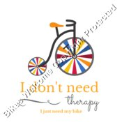 I don't need therapy, I just need my bike