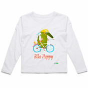 Bike Happy - Kids Longsleeve Tee